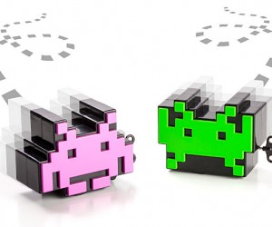 Wind-Up Space Invaders Can't Be Destroyed with Your Laser Pointer