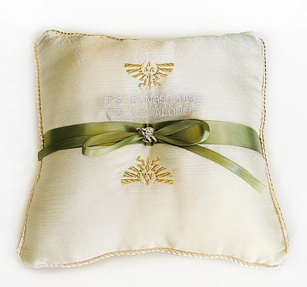zelda ring pillow