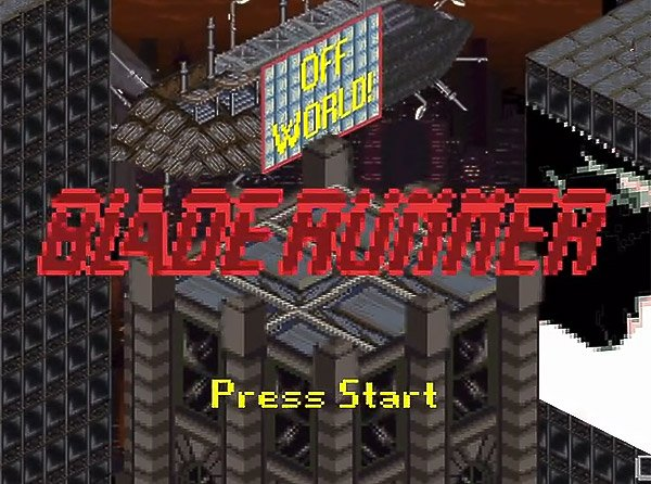 Retro Blade Runner Game: Wake up… Time to Play!