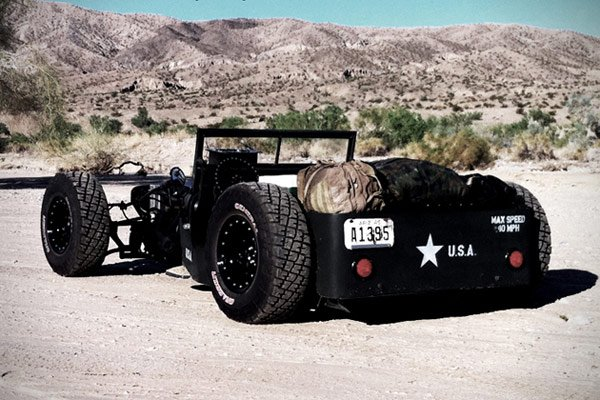 1945 willys jeep rat rod back photo
