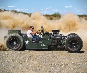 Custom Willys Jeep Rat Rod Eats Dirt for Breakfast