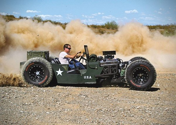 1945 willys jeep rat rod racing photo