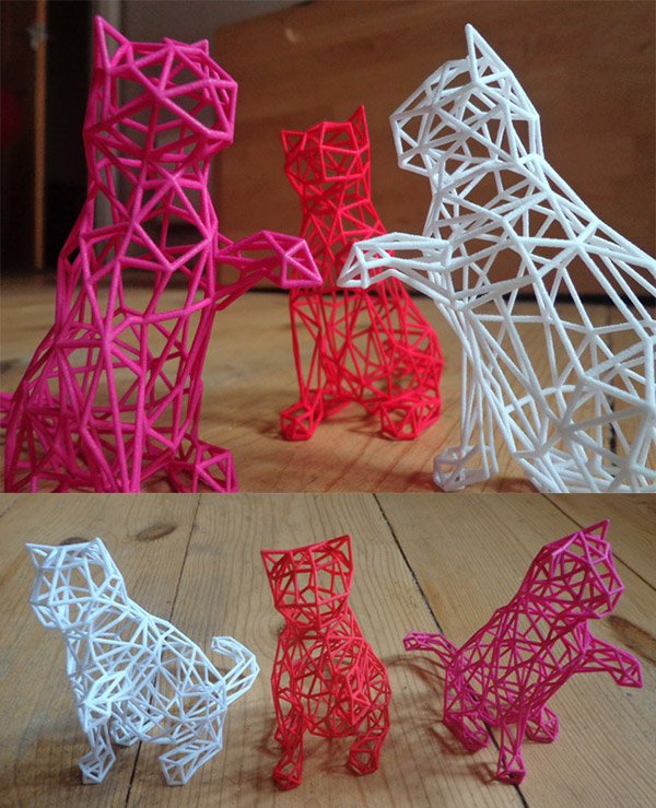 3d printed kitties