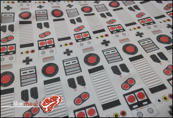 NES Fabric: Time to Decor8-Bit