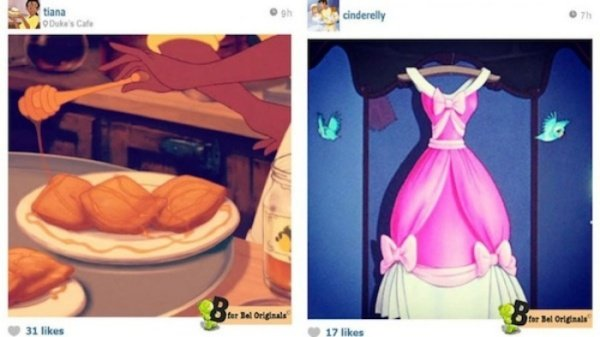 What If Disney's Princesses Used Instagram?