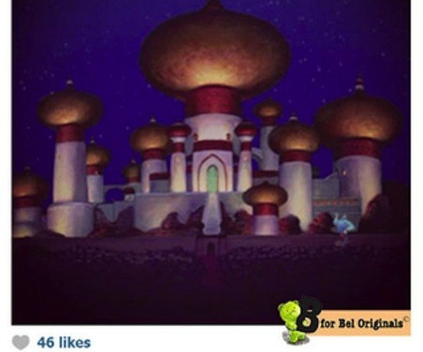 Disney Princess Instagram1