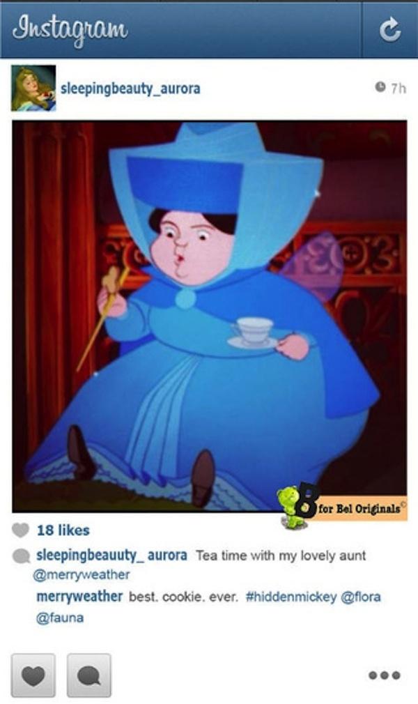 What If Disney S Princesses Used Instagram