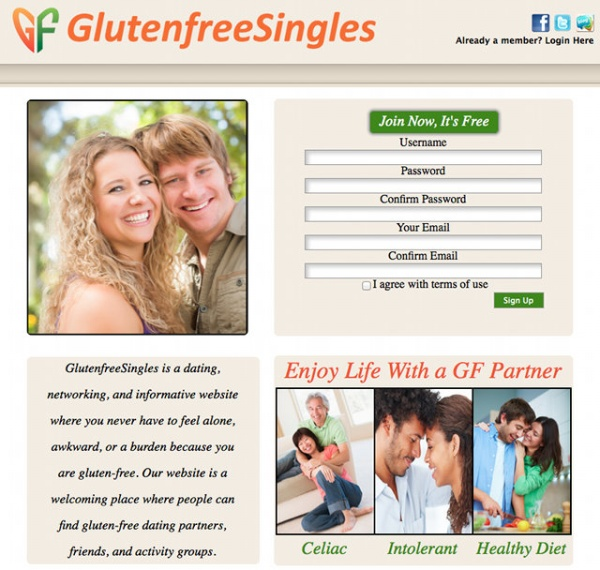celiac dating site Dale graff had one item on his list that seemed particularly elusive: after dating women who made a big fuss about his gluten-free and dairy-free diet, he wanted a partner who shared his diet.