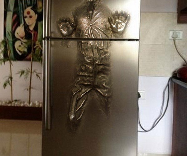Han Solo in Carbonite Fridge: An Ice Box for Tattooine