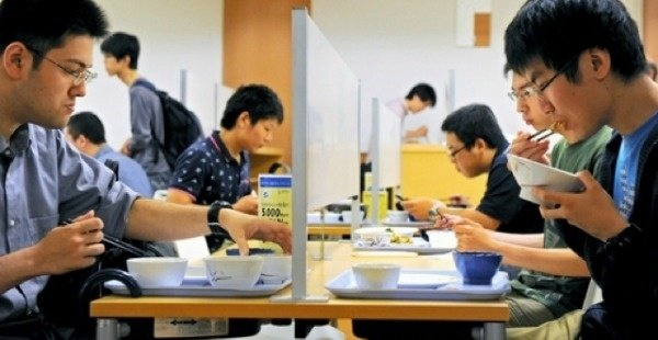 Japan's 'Forever Alone' Tables: Eat on Your Own Lonely Island