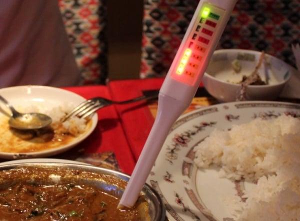 LED Salt meter