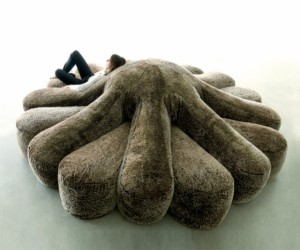 Octopus Couch is Perfect for Parties of Eight
