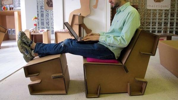 Refoldable Cardboard Furniture1
