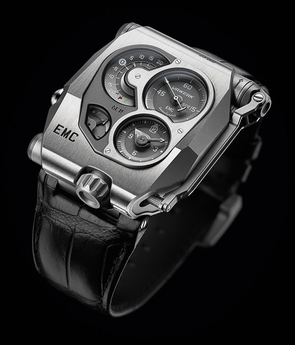 Urwerk emc watch tester display photo