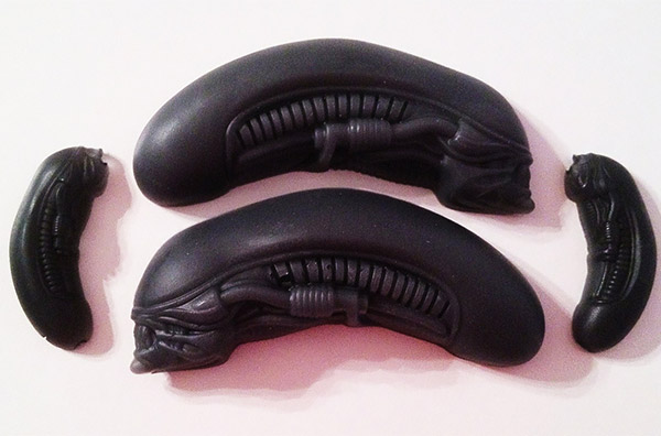 Alien Queen Mother and Babies Soap: In Space No One Can Hear You Get Clean