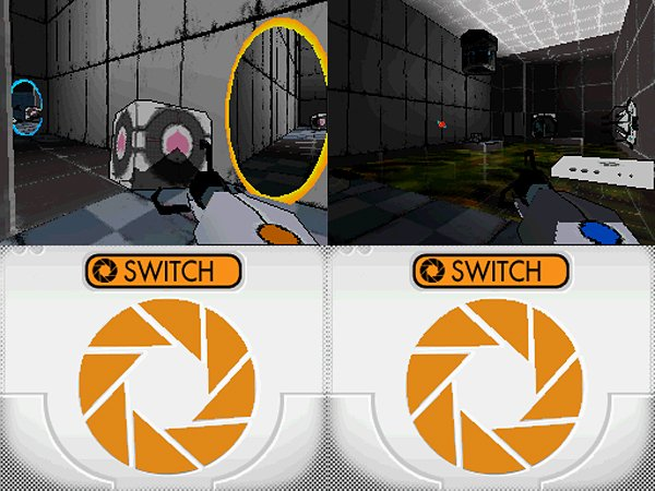 Portal Nintendo DS Homebrew: Aperture Science Handheld Portal Playing Device
