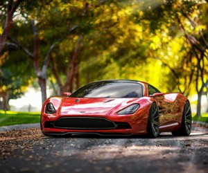 Aston Martin DBC Concept Wants to Give Enzo a Run for Its Money