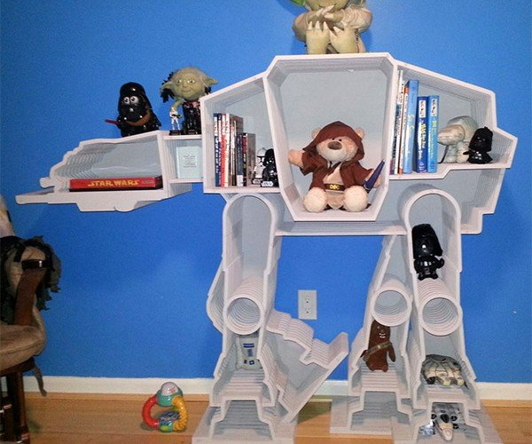 AT-AT Walker Bookcase: The Empire Strikes Book