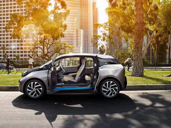bmw i3 2014 electric vehicle open