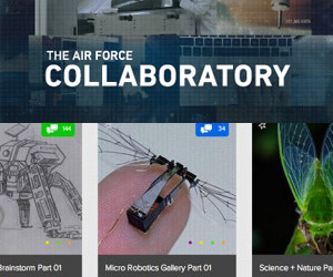 Air Force Launches Collaboratory: A Place to Collaborate and Solve Science Problems