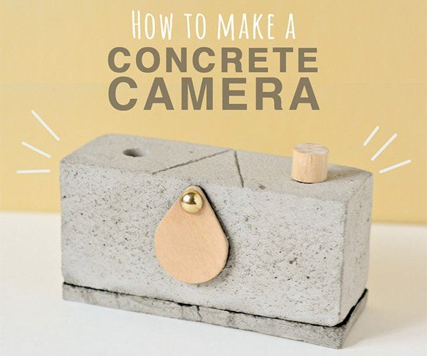 Make a Pinhole Camera from Concrete