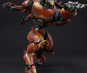 custom crimson typhoon pacific rim action figure by jin saotome 5 300x250