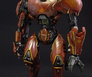 custom crimson typhoon pacific rim action figure by jin saotome 6 300x250