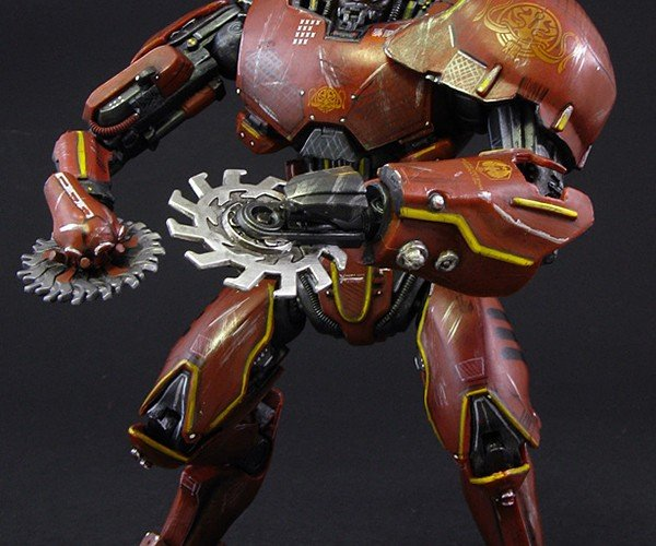 Custom Pacific Rim Crimson Typhoon Action Figure: Go Modded or Go Extinct