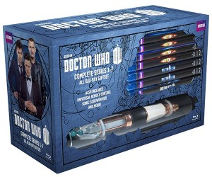 Doctor Who Complete Series Blu-Ray Set with Remote Control Sonic Screwdriver