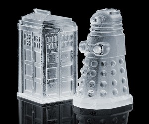 Dalek and TARDIS Ice Cube Tray: Doctor Chill