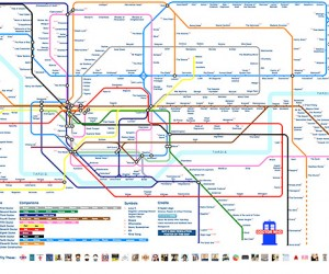 Journey Through Time and Space with This Doctor Who Interactive Subway Map