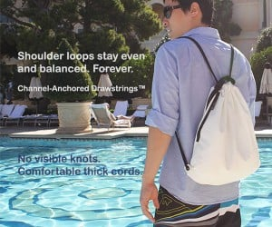The Ol' Drawstring Backpack Gets Reinvented