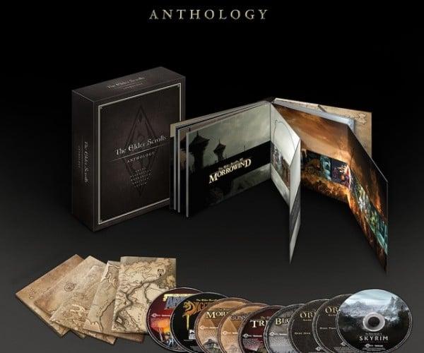 Elder Scrolls Anthology Box Set Coming September 10th