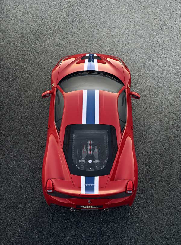 ferrari 458 speciale top photo