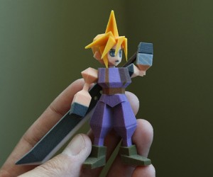 final fantasy vii 3d printed figurines by Joaquin Baldwin 2 300x250