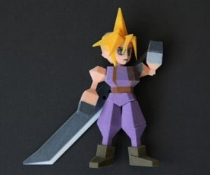 final fantasy vii 3d printed figurines by Joaquin Baldwin 3 300x250