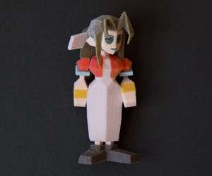final fantasy vii 3d printed figurines by Joaquin Baldwin 5 300x250