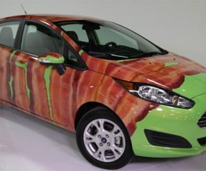 Ford Makes Fiesta More Appetizing with a Bacon Wrap