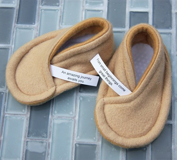 fortune cookie booties 1