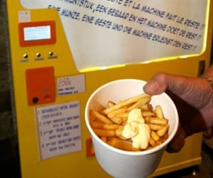 Belgian Vending Machine Cooks and Serves French Fries in 90 Seconds
