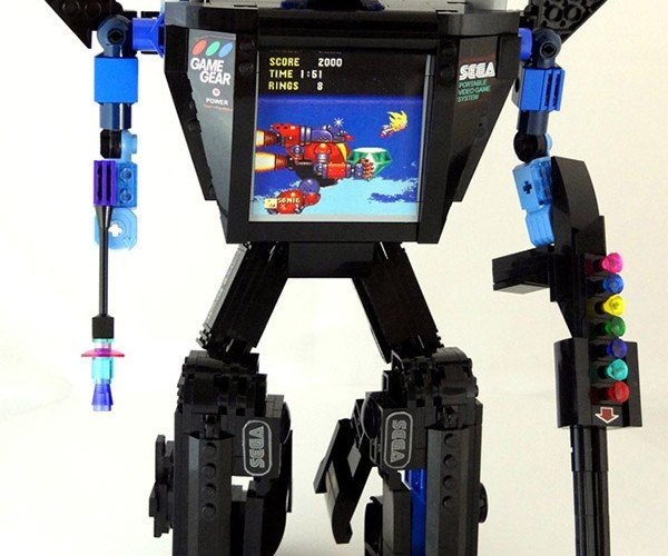 SEGA Game Gear LEGO Transformer: Sonic in Disguise