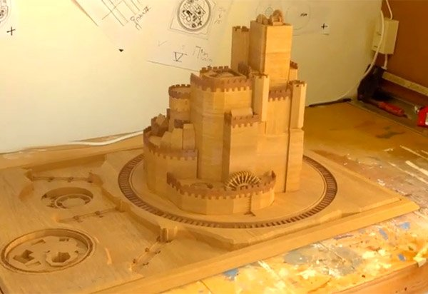 game of thrones 3d model