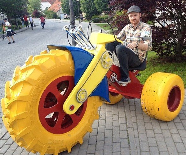 An Even Bigger Big Wheel for Adults