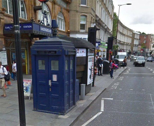 Google Maps Takes You Inside the TARDIS