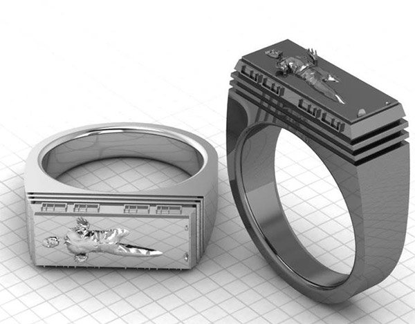 Han Solo Carbonite Ring: Jabba the Jeweler