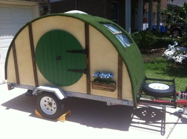Hobbit Hole Camping Trailer for Hobbits on the Move