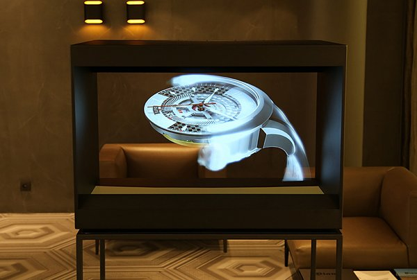 2013 Holocube 40″ Holographic Display: Advertising Augmented