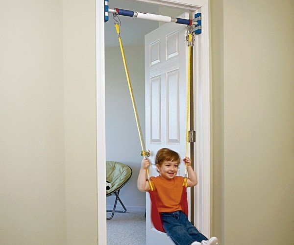 Swing Anywhere with the Door Frame Swing