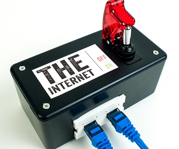 DIY Internet Kill Switch: The Elders of the Web Wouldn't Stand for This