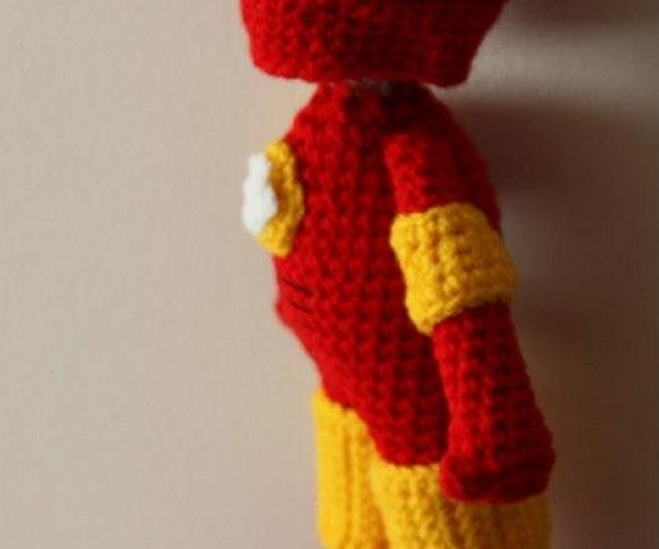 Amigurumi Iron Man: Stark-craft